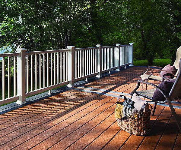 Composite decking - Trex Decking